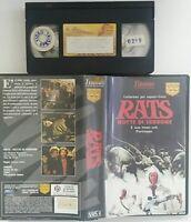 Rats - Notte di terrore (VHS - Titanus) Usato Ex Noleggio