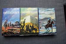 3 Bücher - KARL MAY Am Rio de la Plata, In den Kordilleren, Die Felsenburg
