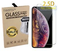Tempered Glass Screen Protector for Iphone X - Clear Transparent Shatterproof
