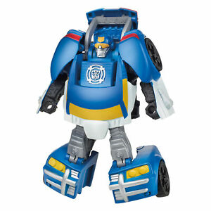 Transformers Rescue Bots Academy Chase the Police-Bot, 4.5-Inch Action Figure