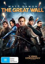 The Great Wall (DVD, 2017) : NEW