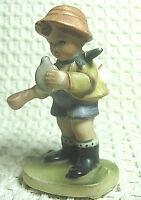 Vintage NapcoWare Ceramic Figurine, Little Boy Drinking C-7199, Made in Japan