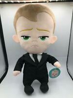 Large Dreamworks Boss Baby Movie Plush Kids Soft Stuffed Toy Doll Suit And Tie