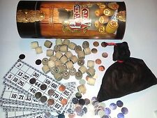 A Bingo Russian Old Board Game Loto Lotto Wooden Wood Barrels Русское Лото
