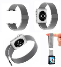 Stainless Steel Mesh Loop Milanese Magnetic Band Strap For Apple iWatch 38mm