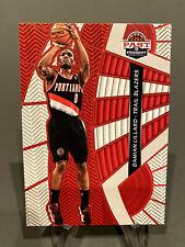 DAMIAN LILLARD 2012-13 Panini Past & Present Threads #34 Rookie - Trail Blazers