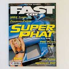 Fast Car Magazine November 2002 -Peugeot 306 - VW Polo - Fiat Punto - Escort RST