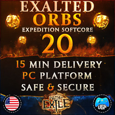 Path of Exile 🔥20x🔥 Exalted Orbs EXPEDITION League Softcore   PC   PoE Exalts