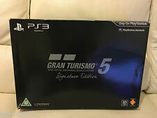 Gran Turismo 5 Signature Edition PS3 Mint Condition **LOOK**