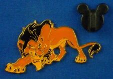 Scar from The Lion King Wood Box Set Villain Prowling Disney Pin # 5713