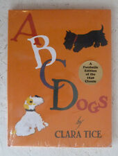 ABC Dogs Clara Tice Facsimile Edition 1940 Young Children Picture Book Unopened