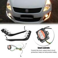 For Suzuki Swift 2014-2016 LED DRL Daytime Running Light Fog Turn Signal Lamp BF