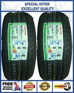 2-205/60R15 91V ROADSTONE NBLUE ECO EXCELLENT RATING HIGH PERFORMANCE 2 TYRES