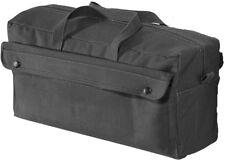 Jumbo Canvas Mechanics Tool Bag Military Style - BLACK by Rothco 8146