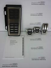 Originale Audi A3(8V)Calotte Pedale Nel Set Incl. Poggiapiedi,Acciaio Inox