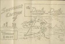 Newspaper Army U.S.A.T Darby Daily Yokahama Japan 1949