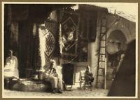 Foto Vintage Piktoralistische 1930 Algerien - Traumhändler Tapis - Oriental