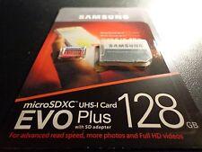 Samsung EVO Plus 128GB UHS-I Class 10 MicroSDXC Micro SD Memory Card