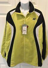 YONEX VINTAGE New Heat Capsule Full Zip Athletic Tennis Jacket Insulated NWT XL