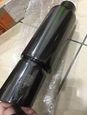 HKS HI Power exhaust racing mini muffler Titanium slant tip 2.5 inch lnlet