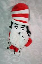 The Manhattan Toy Company 2001 Cat in the Hat Puppet Doctor Seuss Very Good Used