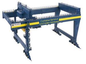Faller 120291, Containerbrücke GVZ Hafen Nürnberg, Neu & OVP, H0