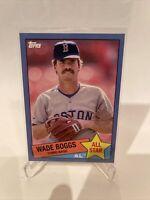 2020 Topps Baseball 35th Anniversary Wade Boggs Blue