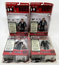 Mezco Reservoir Dogs Mr White Mr Orange Mr Pink & Mr Blonde Figure Set Sealed
