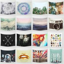Tapestries Wall Hanging Poster Hippie Bedspread Beach Towel Indian Yoga Mat 239