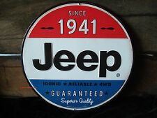 NEW METAL JEEP DECOR cherokee wrangler compass military auto blue red white car