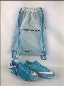 Nike HyperVenom Phantom III FG ACC Women's Soccer Cleats Blue White