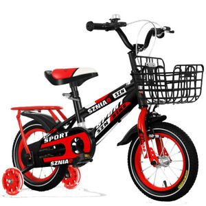 SZNIAO Children's bicycle girl boy 8-9 years old rear seat with training wheels