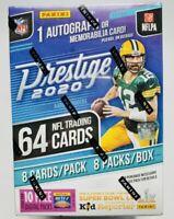 2020 PANINI PRESTIGE NFL FOOTBALL BLASTER BOX BURROW TUA HERBERT AUTO PRIZM RC