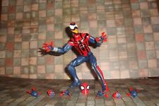 MARVEL LEGENDS SPIDER-MAN ABSORBING MAN BAF BEN REILLY SPIDER-MAN LOOSE