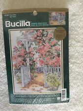 Bucilla Floral Arbor Stamped Cross Stitch Kit 42357