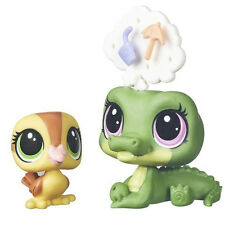 NEW Alligator & Duckie Littlest Pet Shop Pets in the City #133 & #134
