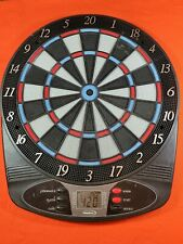 New listing halex electronic dart board Tested, used, fully functional Runs On 3 AA or ac