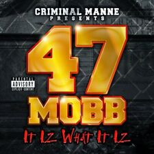 Criminal Manne Presents 47 Mobb - It Iz What It Iz (Memphis Underground Rap) HOT