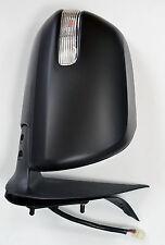 Toyota Hilux Mk7 2.5TD/3.0TD Door/Wing Mirror Black Electric R/H O/S - 2012>On