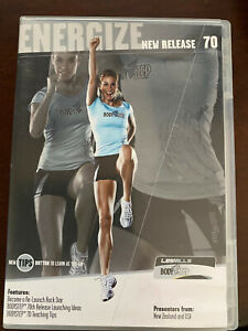 Les Mills Body Step Release 70 with DVD CD Choreography Notes / Booklet Bodystep