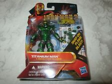 Hasbro Marvel Iron Man 2 Movie Comic Series Titanium Man #31 Action Figure