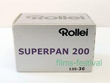 5 Rolls Rollei SUPERPAN 200 120 Black and White Film Medium Format