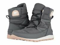 Women's Sorel Whitney Short Lace Winter Boots - Quarry