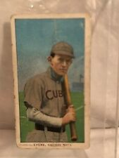 Johnny Evers Chicago Cubs Sweet Caporal Baseball Tobaco Card National League