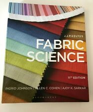 J.J.PIZZUTO'S FABRIC SCIENCE / 11TH EDITION/ NOT USED / FOR SALE