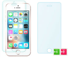 Apple iPhone 5 5S SE Echtglas Glasfolie Panzerglas Displayschutz Schutzglaß Glas