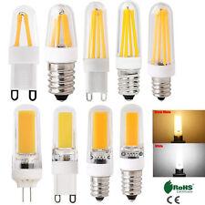 G4 G9 E12 E14 Dimmable Silicone Crystal LED Corn Bulb COB Light 4W 8W 9W Lamp