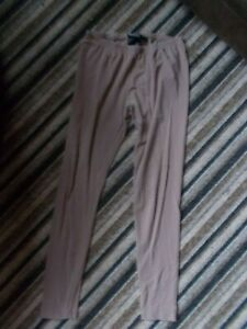 TAUPE BROWN LEGGINGS SIZE 12