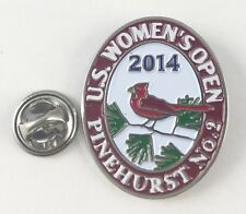 US OPEN GOLF CHAMPIONSHIP PINEHURST PUTTERBOY Lapel Hat Cap PIN 2014 Women's