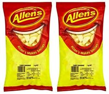 Bulk Lot 2kg x Allens Bananas Lollies Buffet Candy Sweets Party Favor Treats New